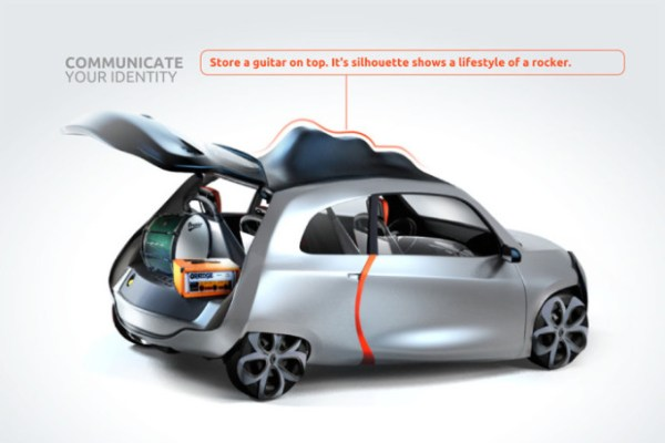 New Concept Renault 5: versatility and practicality.