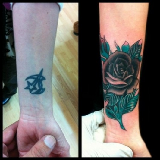 Coverup tattoo 11