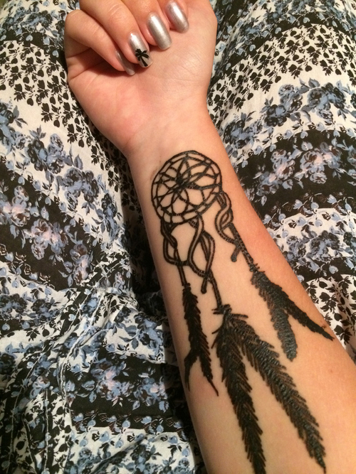 Dreamcatcher Tattoos 6