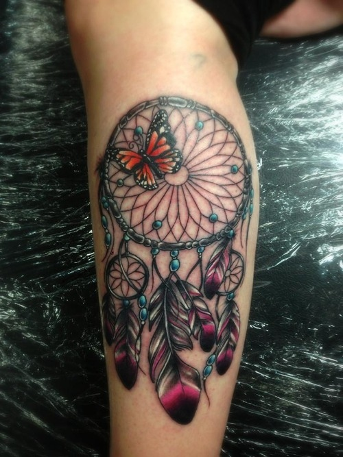 Dreamcatcher Tattoos 9