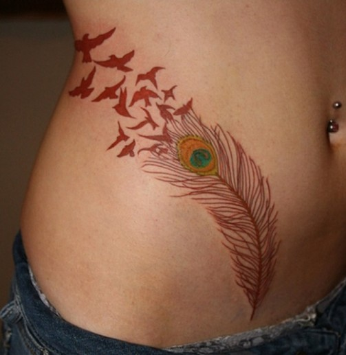 Feather-Tattoo-Designs-11