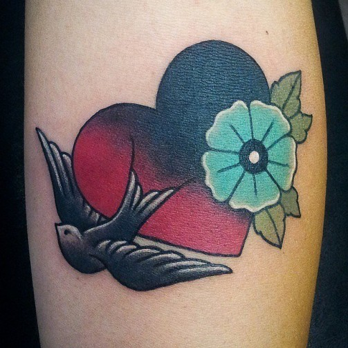Heart Tattoos 8