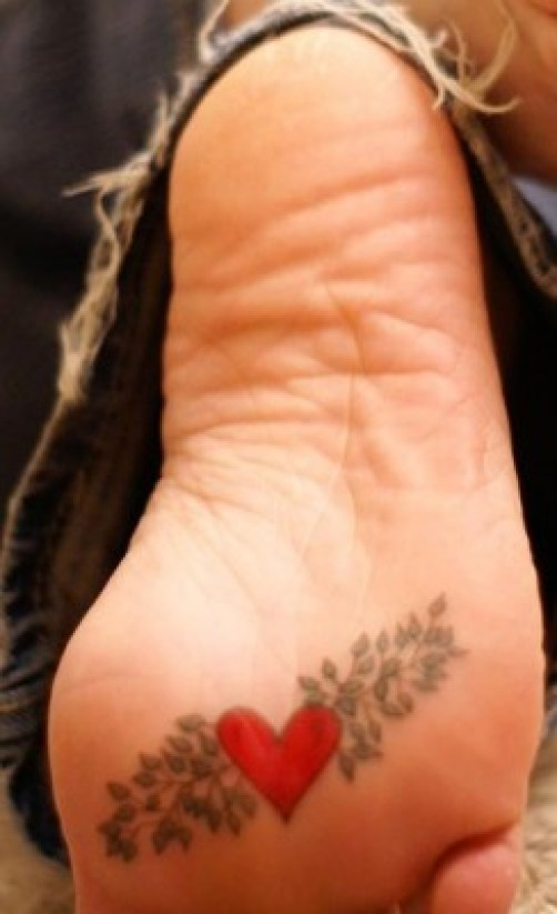 Heart tattoo(12)