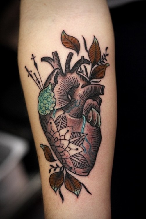 Heart tattoo8