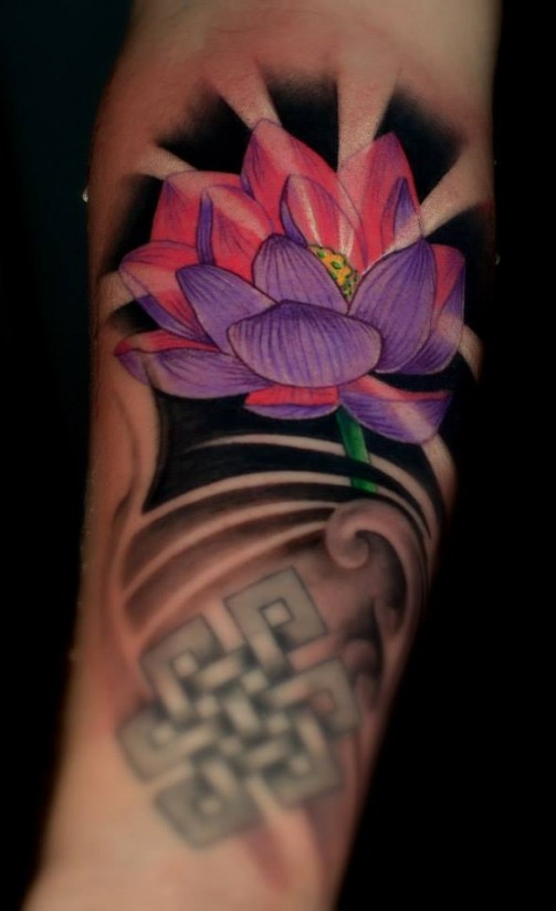 Lotus Flower Tattoo1