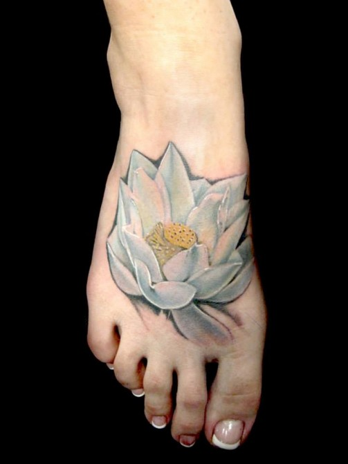 Lotus Flower Tattoo8