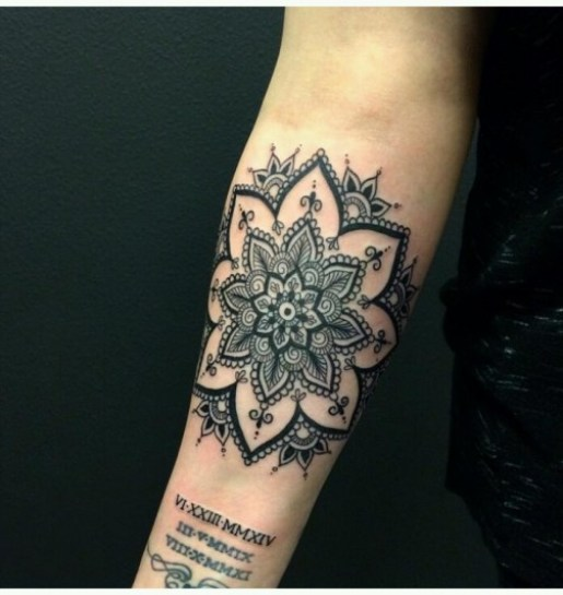 Mandala Tattoo7