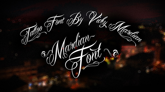 Download 50 Free Tattoo Fonts to Make Your Design Superior With Typography