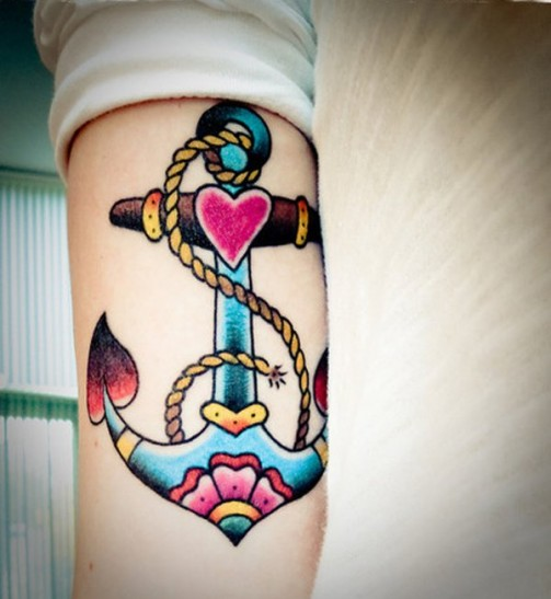 anchor-tattoo-on-arm