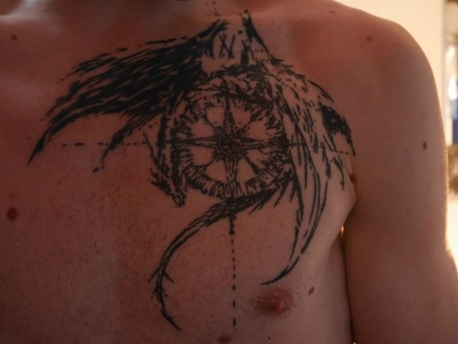 compass tattoo4