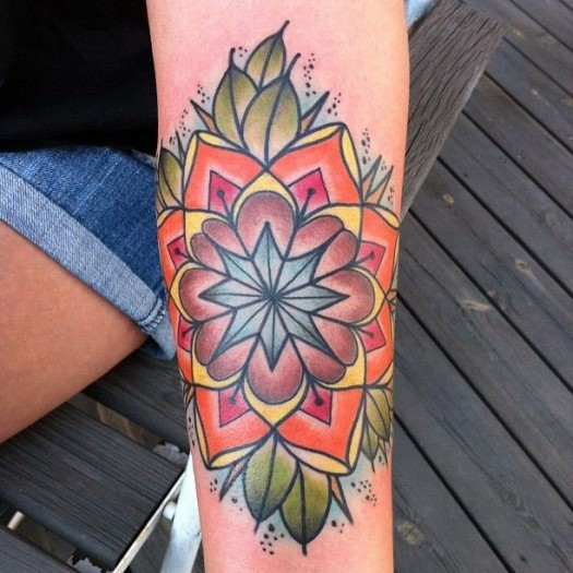 mandala tattoo 8
