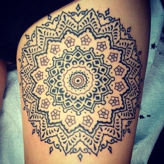 mandala tattoo 9