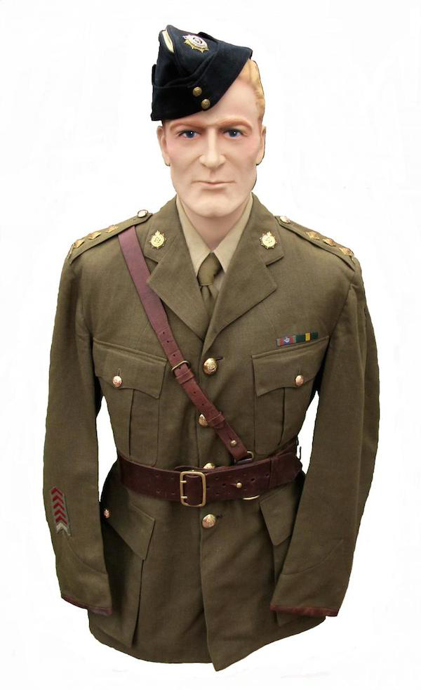 18 Photos of Canadian Army uniforms (1903 to today)