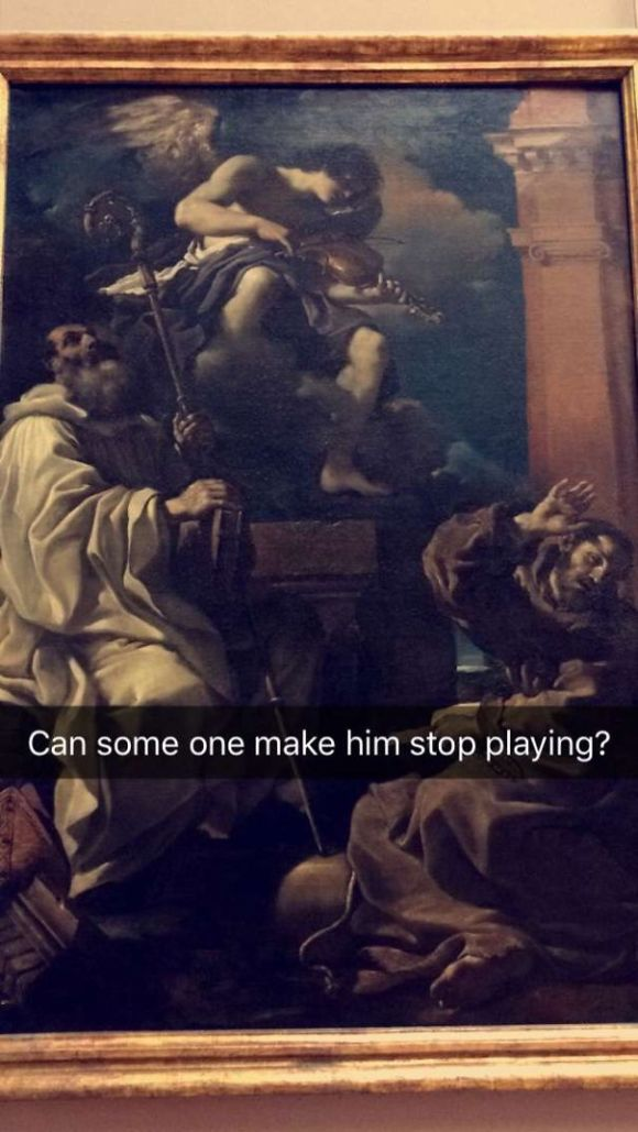 classic funny painting 3