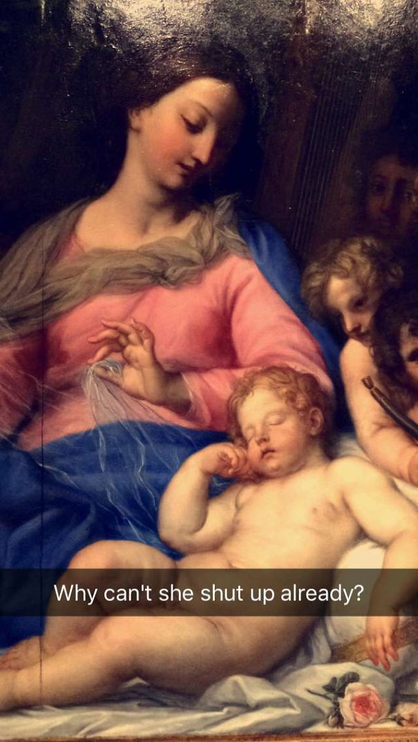 I Saw Horrifying Paintings while visiting The Louvre (10 Photos)