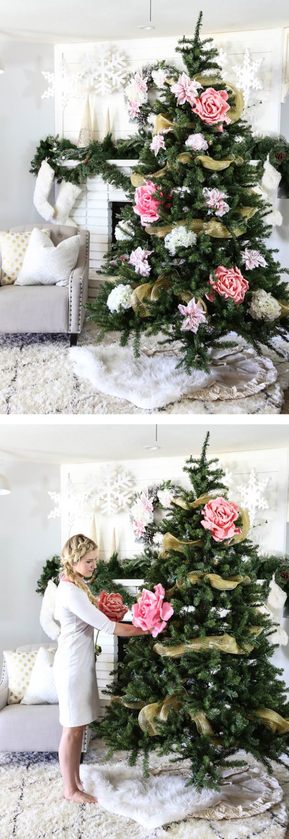 floral-christmas-tree 12