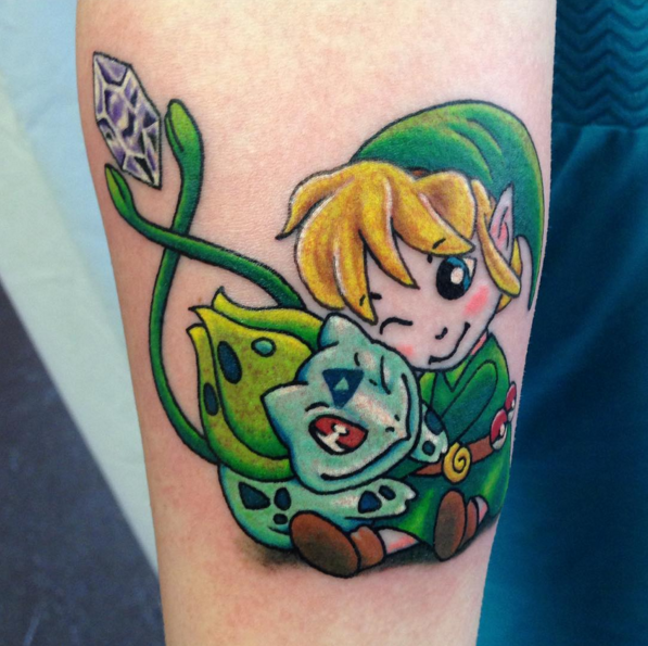 "20 Tattoos of ""Legend Of Zelda"" that are Extremely Awesome"