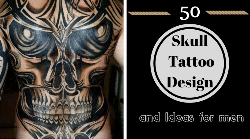 50 Skull Tattoo Design and Ideas for men