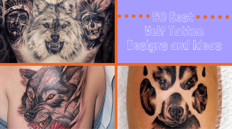 50 Best Wolf Tattoo Designs and Ideas