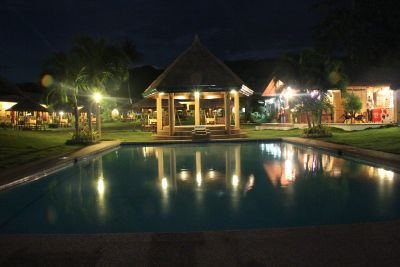 Bodos-Bamboo-Bar-Resort-Restaurant-night-pool