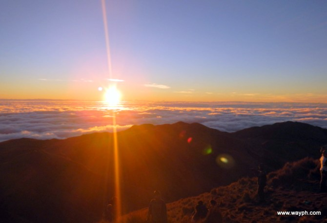 Sunrise at Mt. Pulag