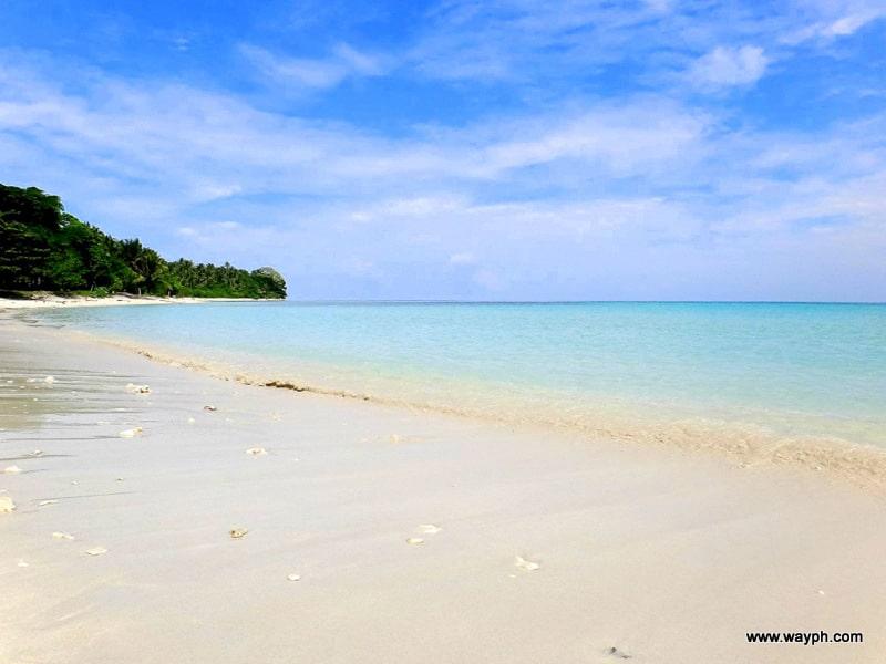 White Sand Beach of Malamawi Island in Basilan
