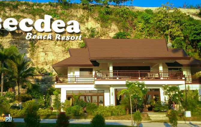 Secdea Beach REsort sign