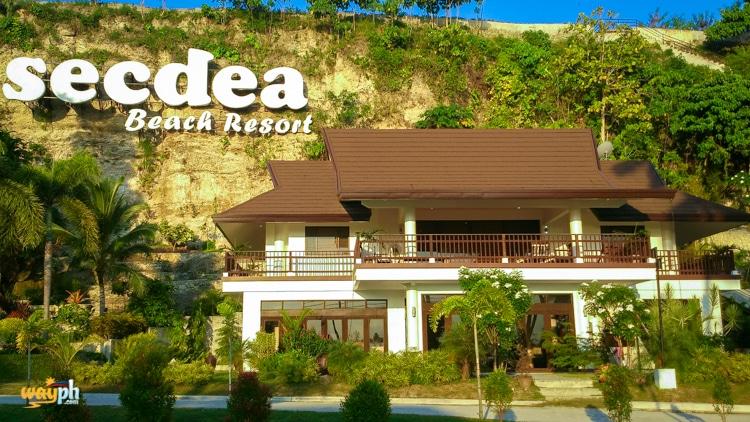 Secdea Beach REsort sign