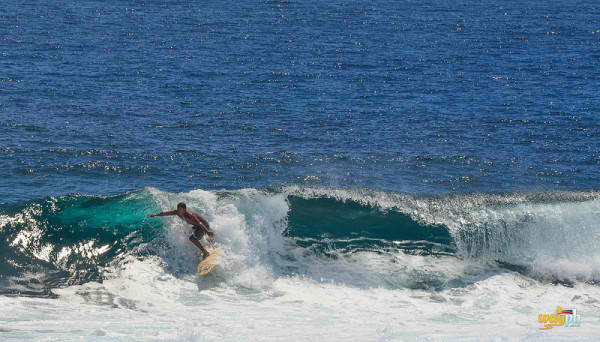 Surfing activities in the Philippines
