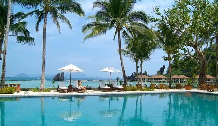 Lagen Island Resort Palawan Website
