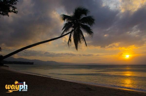 Sunset at Saud beach