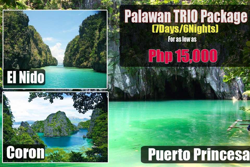 El Nido Palawan Package Tour With Airfare