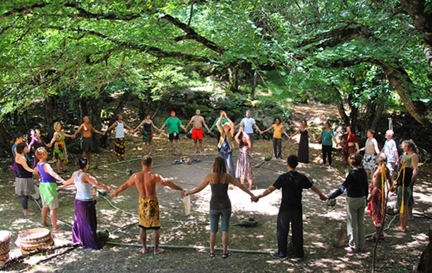outdoor circle