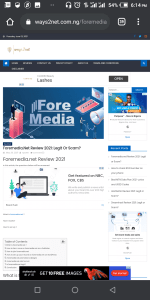 Foremedia.net approval proof