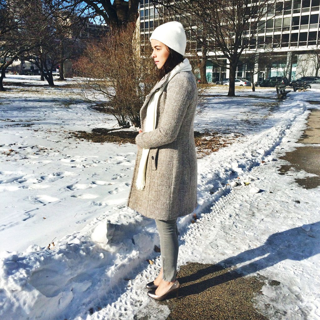 My version of monochromatic outfits wearing different shades of neutrals