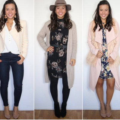How to layer like a pro! 5 pieces – 10 Fall looks