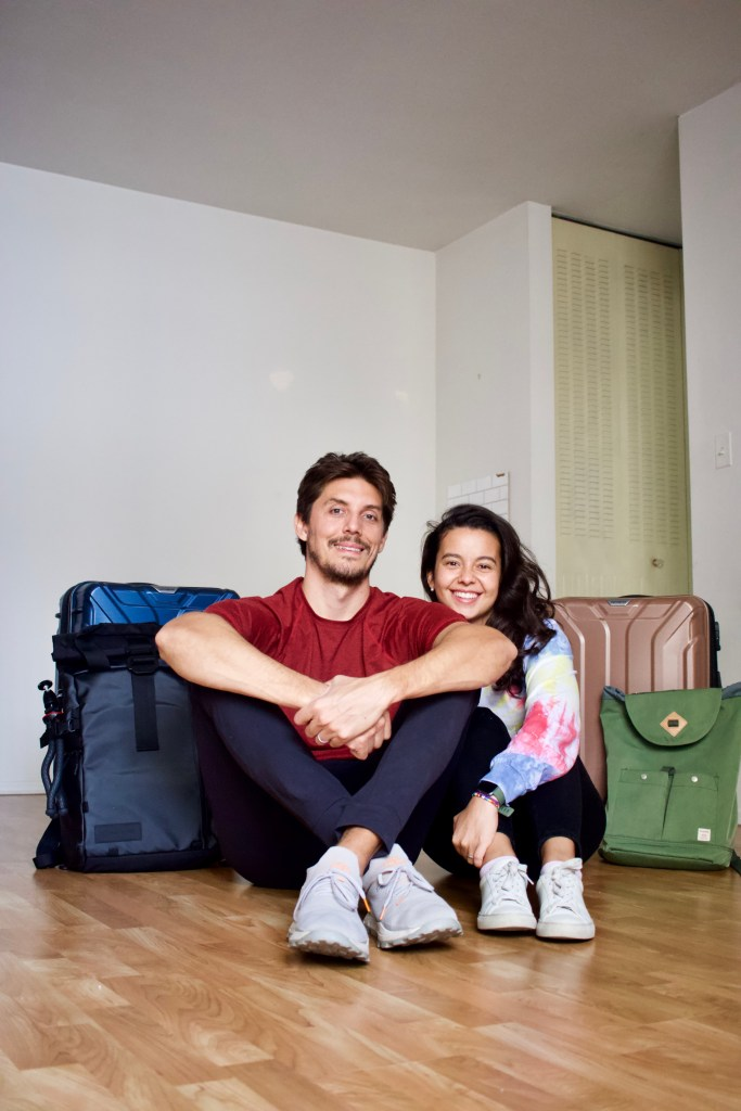 Last day in our old apartment before becoming digital nomads and living in airbnbs full time