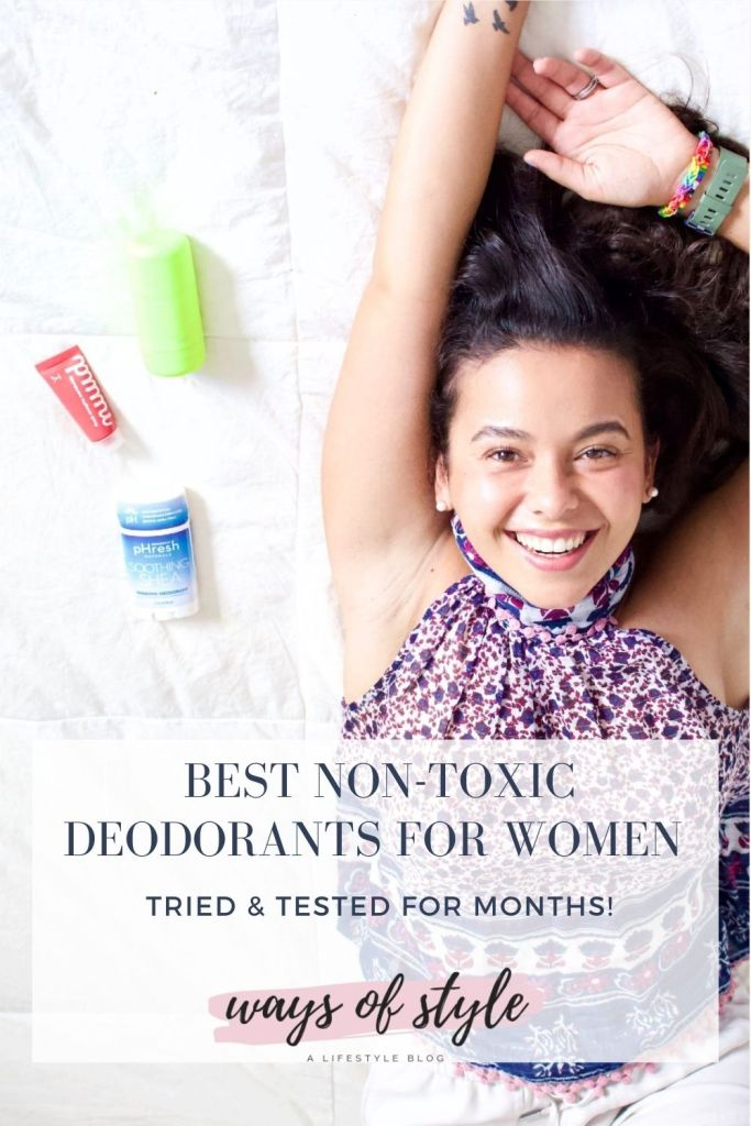 non toxic deodorant reviews Pinterest Pin