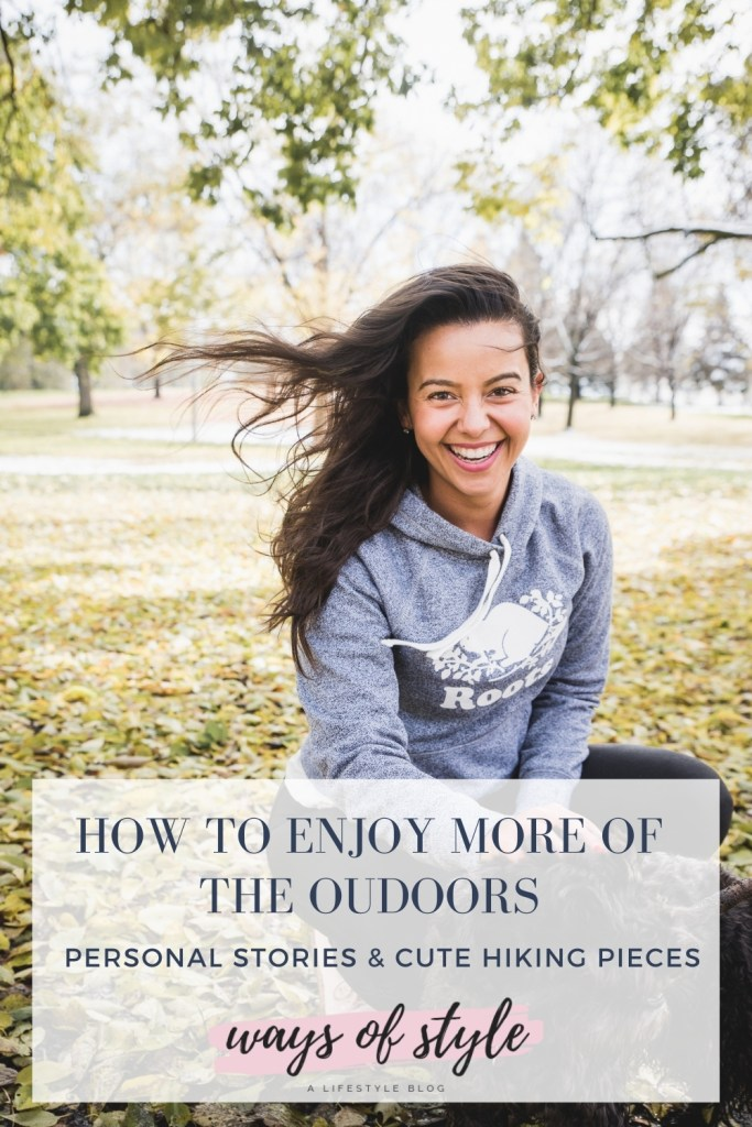 Pinterest Pin - How to enjoy more of the outdoors