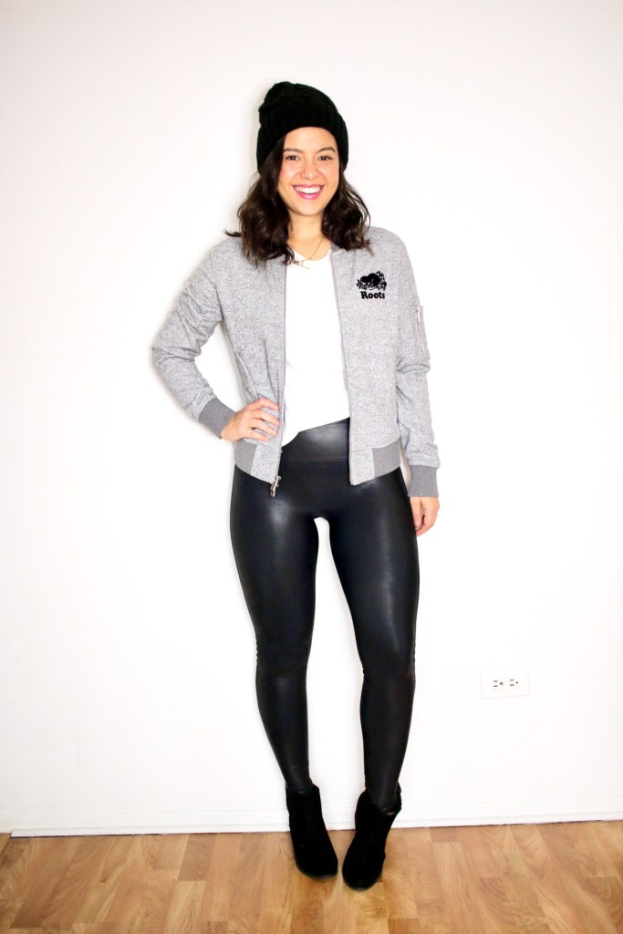 How to style spanx leggings with booties for Spring 2021