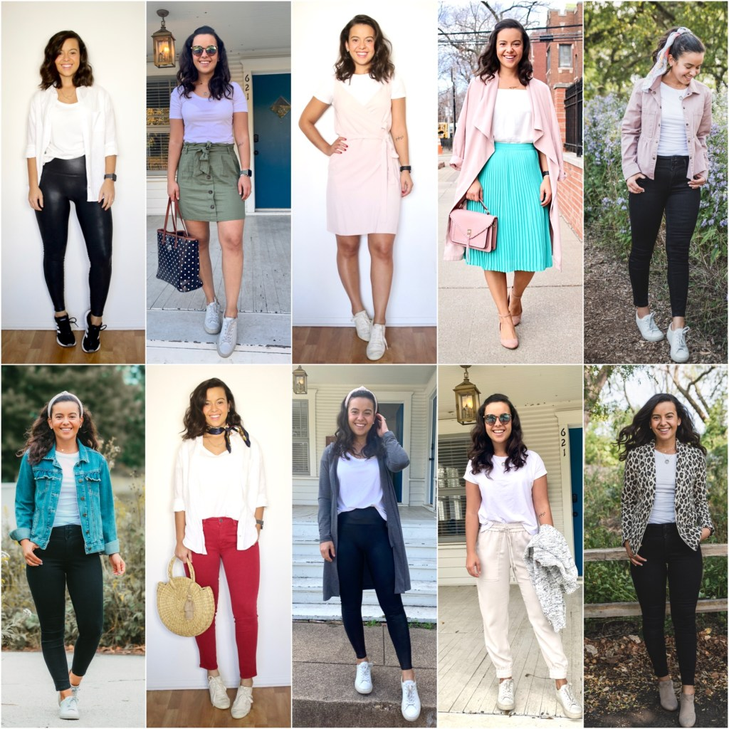 More ways to style a white t-shirt