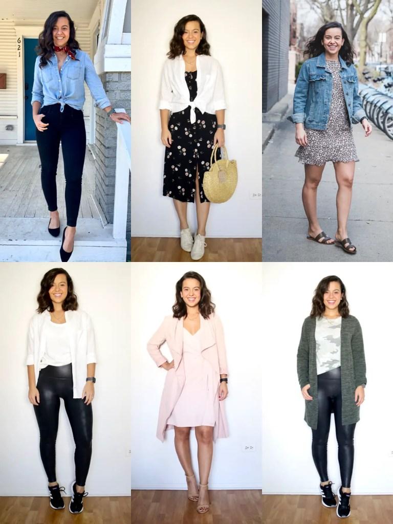 Minimalistic wardrobe for spring 2021