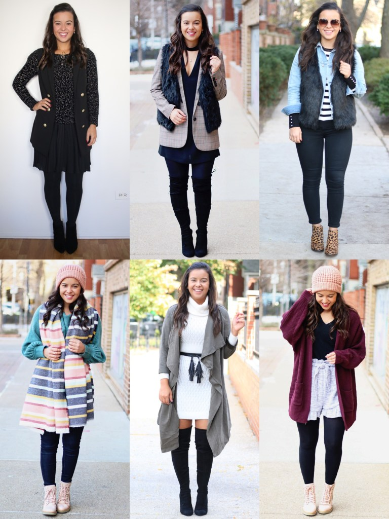Winter outfit ideas part 1