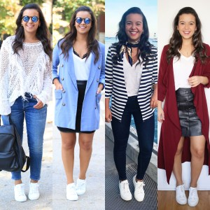 How to wear white sneakers -60 white sneakers outfit ideas