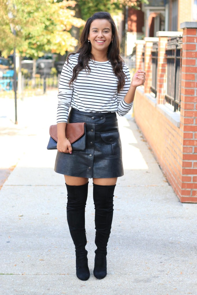 Fall date night outfit idea