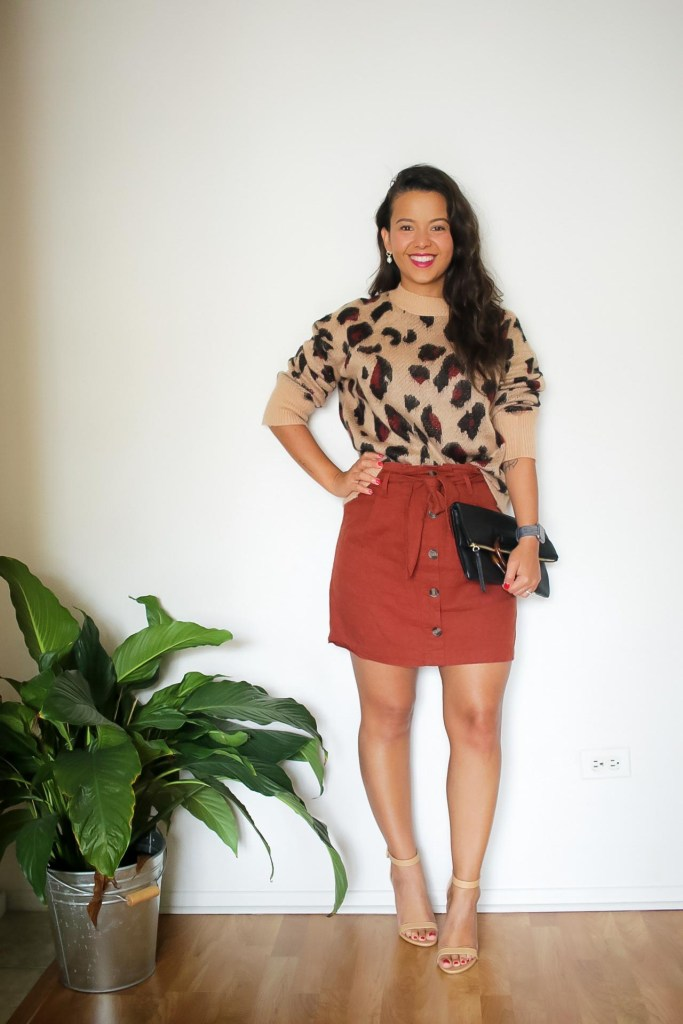 fall date night outfit
