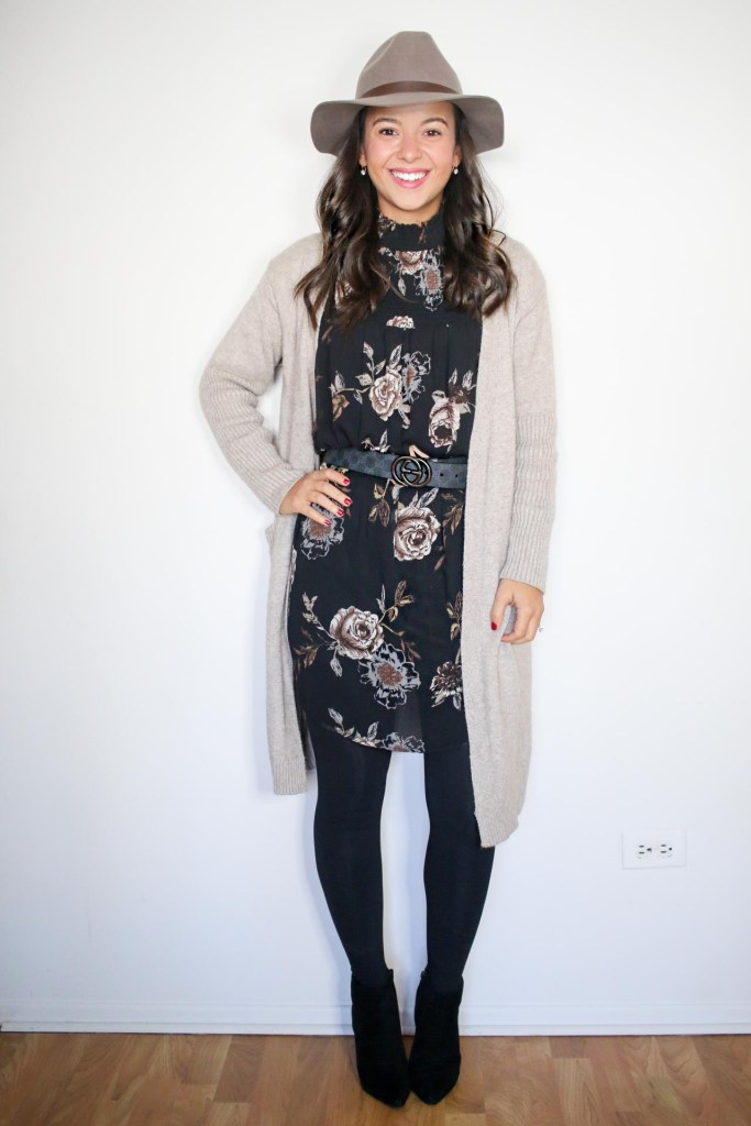 How to style an oversized sweater for Fall
