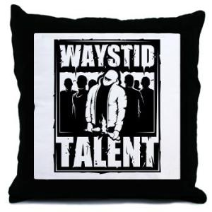 Waystid Talent Throw Pillow