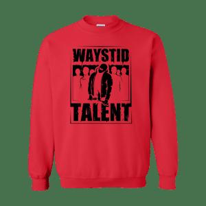Waystid Sweatshirt (Black Logo)