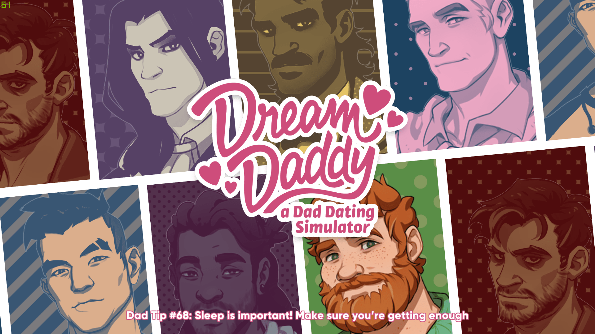 Review - Dream Daddy: A Dad Dating Simulator (PC)